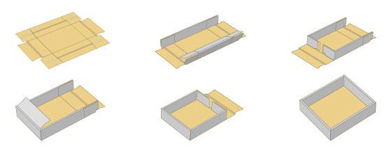 ハート 折り紙 紙の箱の折り方 : studental.net